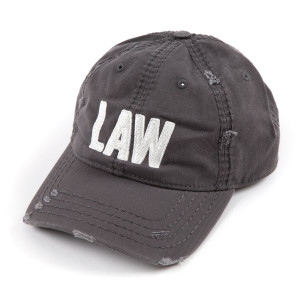 LAW Distressed Hat