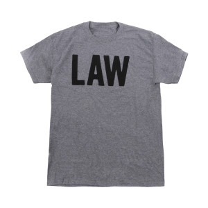 LAW Charcoal T-Shirt