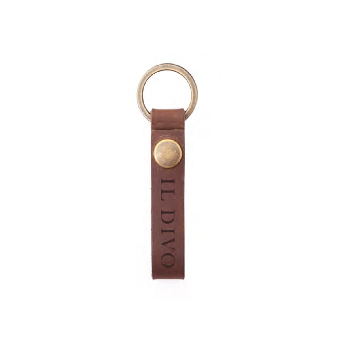 Il Divo Leather Keychain