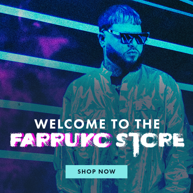 Welcome to the Farruko store | Shop now