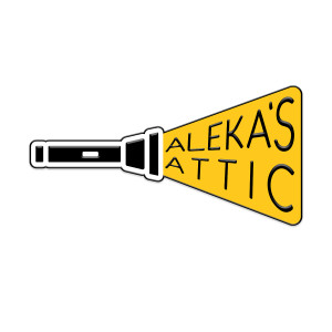 Alekas Attic Enamel Pin