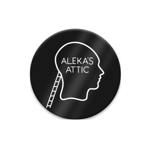 Alekas Attic Metal Button