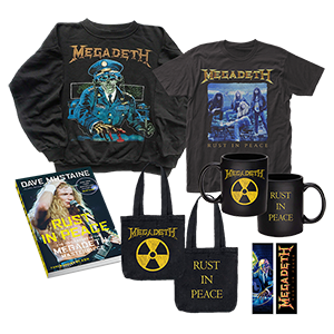 AUTOGRAPHED Book Rust In Peace Ultimate Bundle