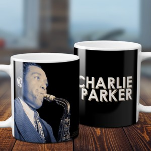 Colorized Charlie Parker Coffee Mug