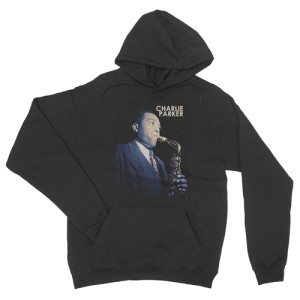 Colorized Charlie Parker Pullover