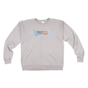 Bird 100 Gray Sweatshirt