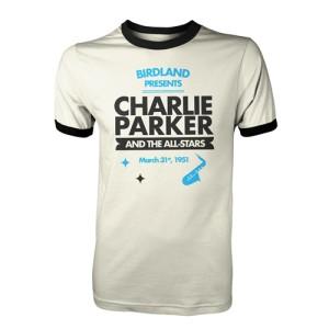 Charlie Parker at Birdland Ringer T-Shirt