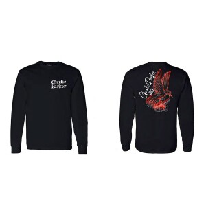 Charlie Parker Chasin' The Bird Phoenix Graphic Longsleeve