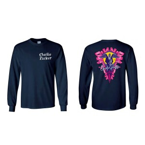 Charlie Parker Chasin' The Bird Angel Graphic Longsleeve