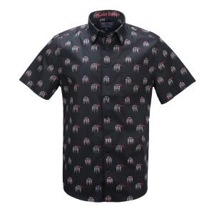 Charlie Parker Bird Cage Short-Sleeve Shirt