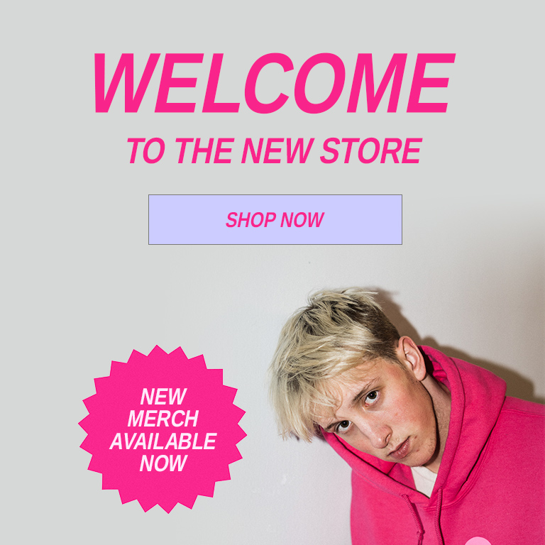 Welcome to the new store | New merch available now | Shop now