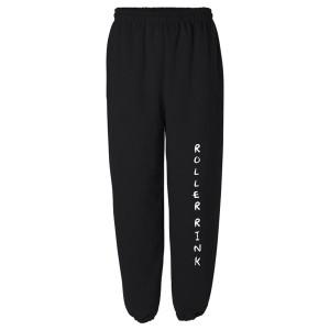 Roller Rink Black Sweatpants