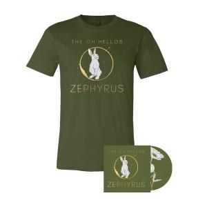 Zephyrus - T-shirt+ CD