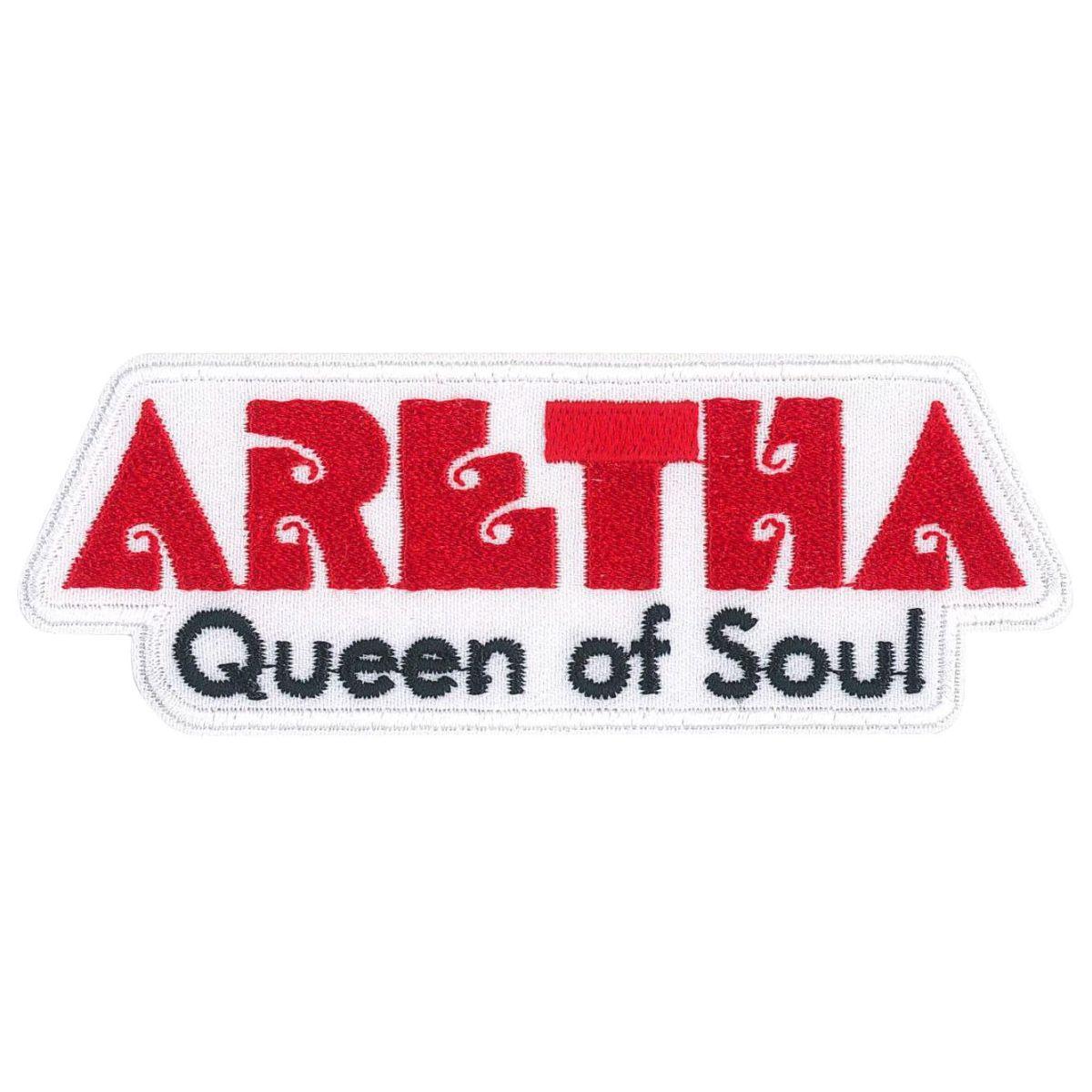 """Aretha Franklin Aretha 4.5""""x1.6"""" Patch"""