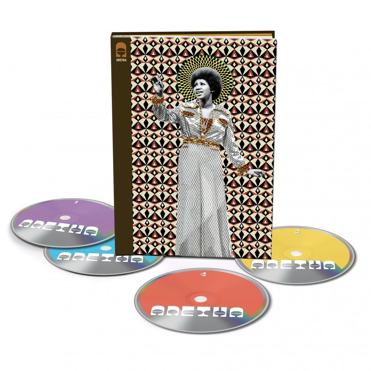ARETHA 4-Disc CD Box Set