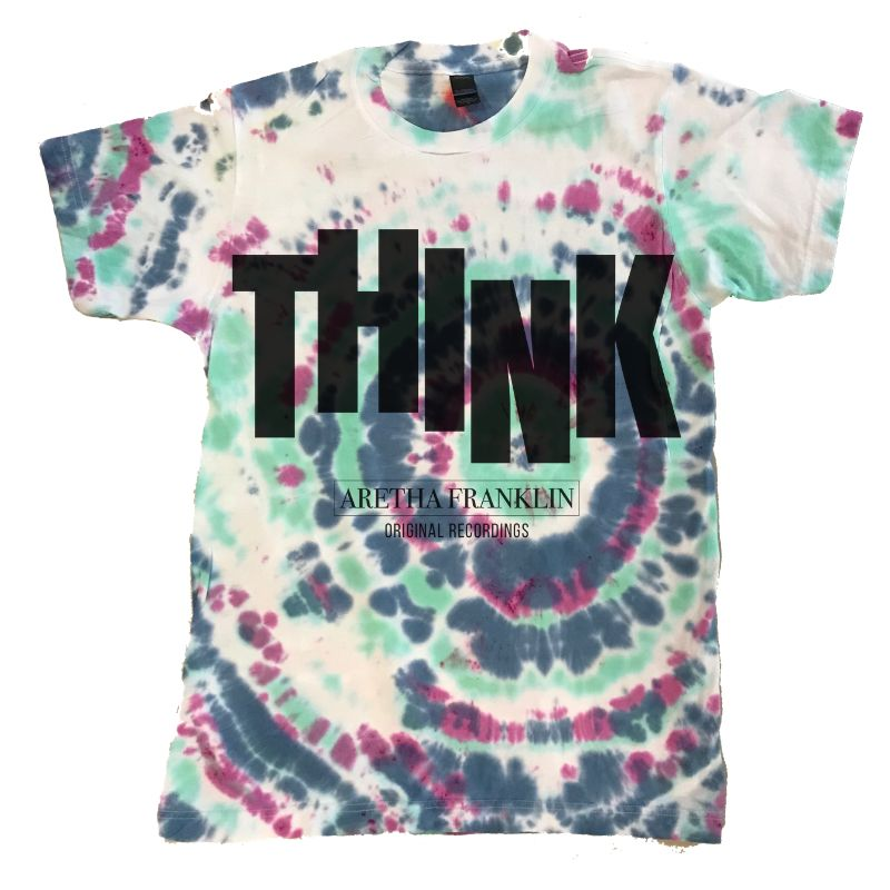 Think Tie-Dye T-Shirt