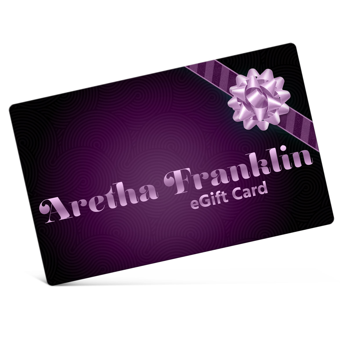 Aretha Franklin Electronic Gift Certificate