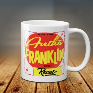 The Aretha Franklin Revue Coffee Mug