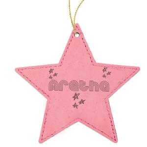 Dreamland Star Leatherette Ornament