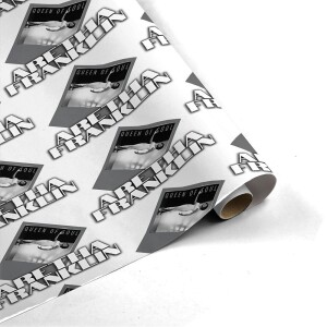Aretha Franklin Stage Presence Wrapping Paper