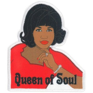 """Aretha Franklin Queen of Soul 3.2""""x3.5"""" Patch"""