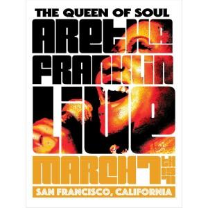 Aretha Franklin San Francisco March 7, 1971 Poster