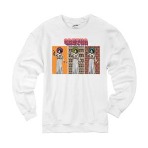 Aretha Cover Triptych Crewneck Sweatshirt