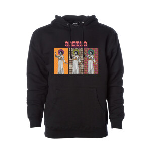 Aretha Cover Triptych Pullover Hoodie