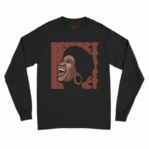 Aretha Respect Hoops Long Sleeve T-Shirt