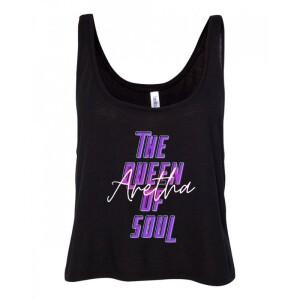 Neon Soul Women's Sleeveless Crop Tank