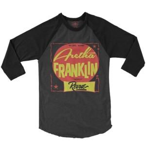 The Aretha Franklin Revue Baseball T-Shirt
