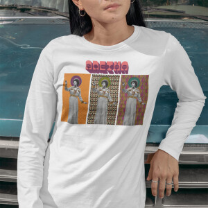 Aretha Cover Tryptic Longsleeve T-Shirt