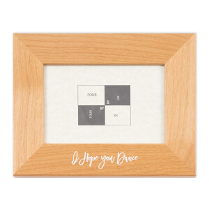 I Hope You Dance Pearwood Picture Frame