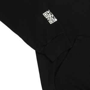 Dopamina Black Hoodie + Shorts Set