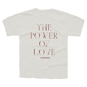Power Of Love Vintage  Tee