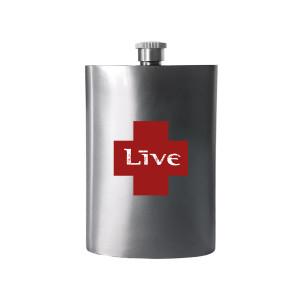 LIVE Metal Flask