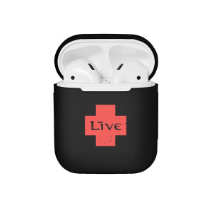 LIVE Black Airpods Case