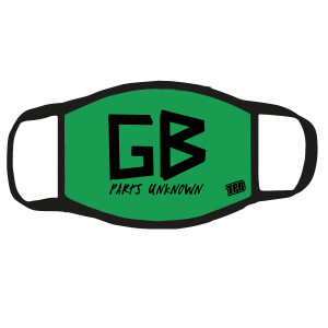 Green Bastard Face Mask