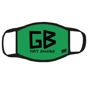 Green Bastard Face Mask