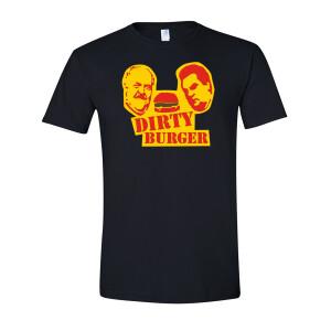 Dirty Burger (Black) T-Shirt