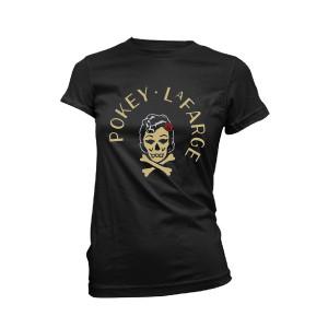 Ladies Rockabilly Skull Tee