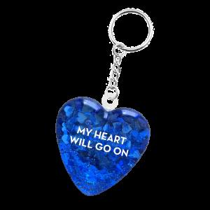 Porte-clés en cœur