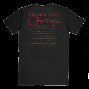 T-shirt de l'album Courage