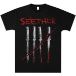Seether - Blades Black Tee