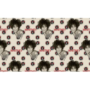 Whitney Houston I Will Always Love You Wrapping Paper