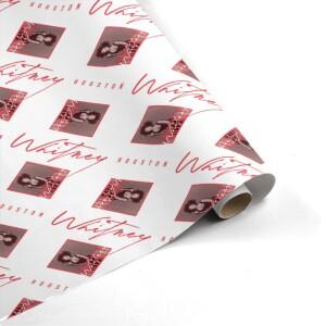 """Whitney Houston <i>""""Whitney""""</i> Wrapping Paper"""
