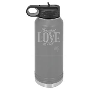 Greatest Love 32 oz Polar Camel Water Bottle