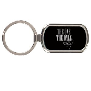 One & Only Laser-Engraved Keychain