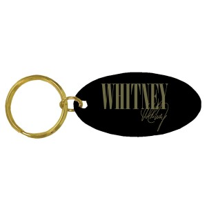 Whitney Brass Keychain