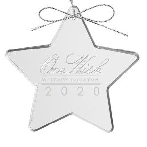 One Wish 2020 Glass Ornament